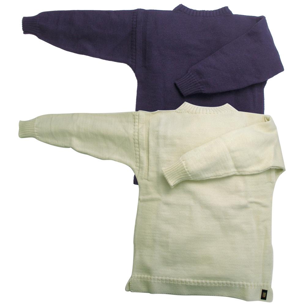 ガーンジーセーター(ブリテン島製)アイボリーMの仕入れ、卸し問屋ならミュー株式会社